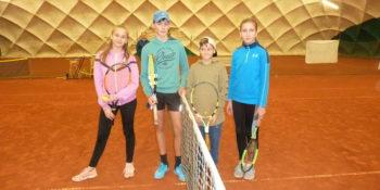 14. 12. 2019 Vánoční tenisový turnaj dětí